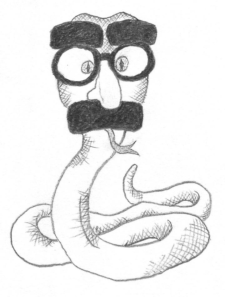 Groucho snake