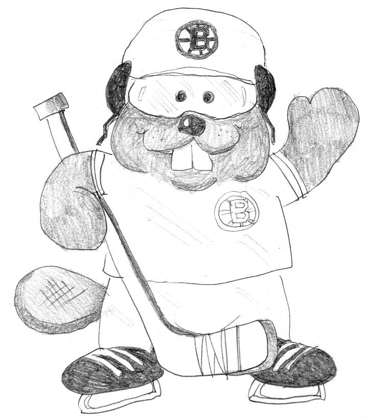 a beaver Bruins