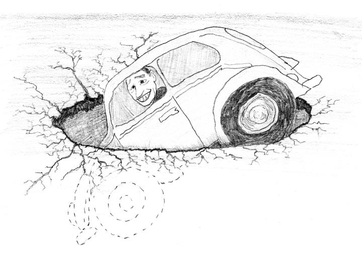 a pothole quiz