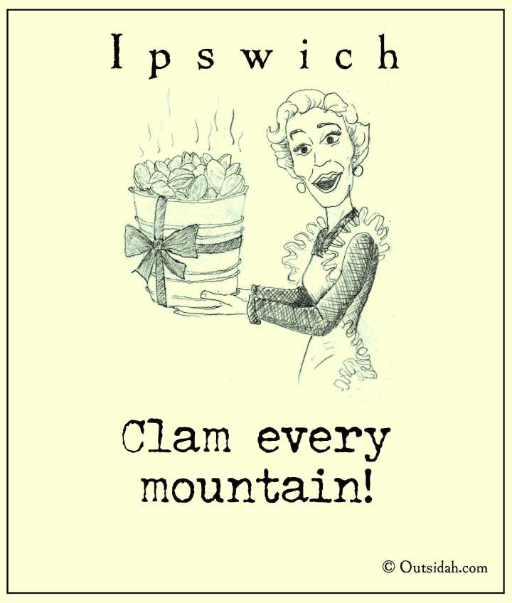 Clam every mountain