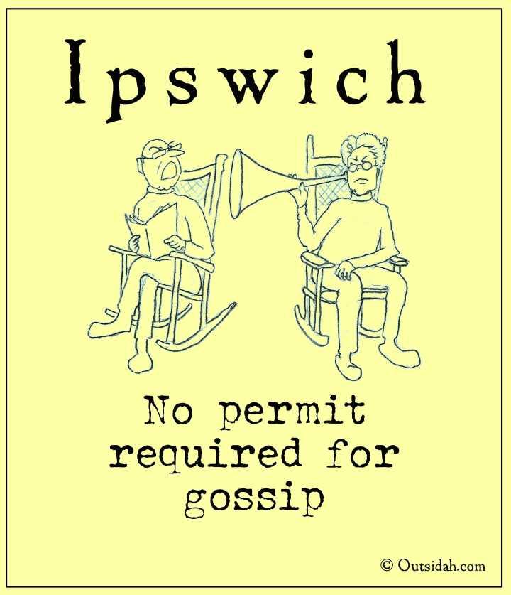 No permit for gossip